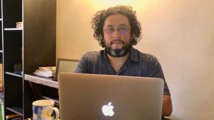 Rafael Quintero: «Uno no elige, uno se encuentra con el periodismo de datos»