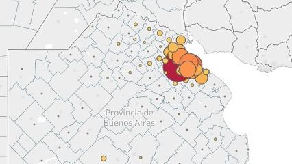 El periodismo de datos y la pandemia: cómo se mapeó al coronavirus en Buenos Aires