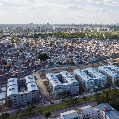 Urbanización parcial de la Villa 20 - Papa Francisco