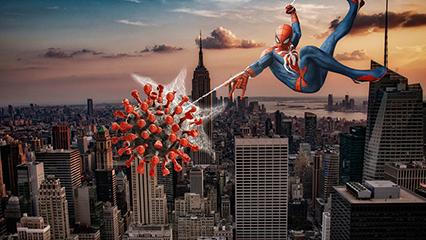 El Hombre Araña y la infodemia